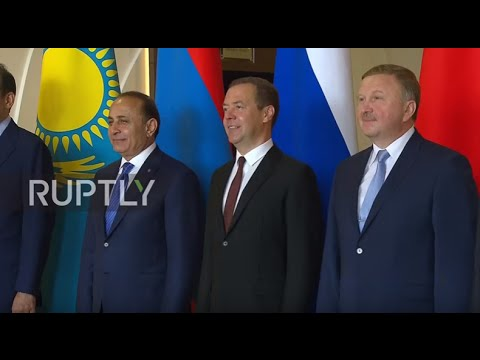 Russia: Medvedev welcomes members of Eurasian Intergovernmental Council to Sochi