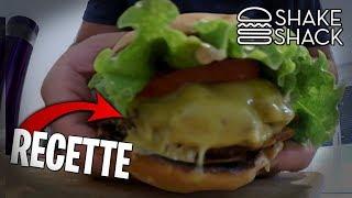 La recette d'un Burger Fast Food de chez Shake Shack