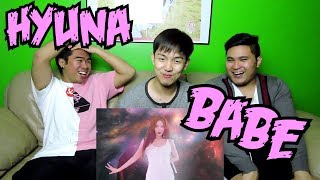 HYUNA - BABE MV REACTION(FUNNY FANBOYS)