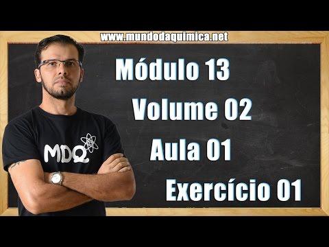 Pressão de Vapor: Módulo13_Aula01_Exercício01