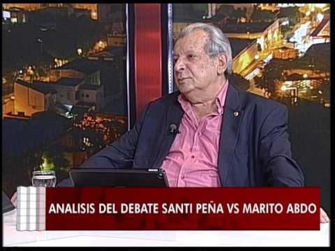 Análisis Pos-Debate Marito Abdo Vs Santiago Peña - #Señales