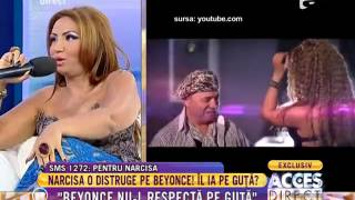 Narcisa Beyonce de Romania nu-l respecta pe Guta
