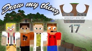 Jirka, GEJMR, GOGO a Gorrden Hraje - Minecraft Mini hry 17 - Draw my thing