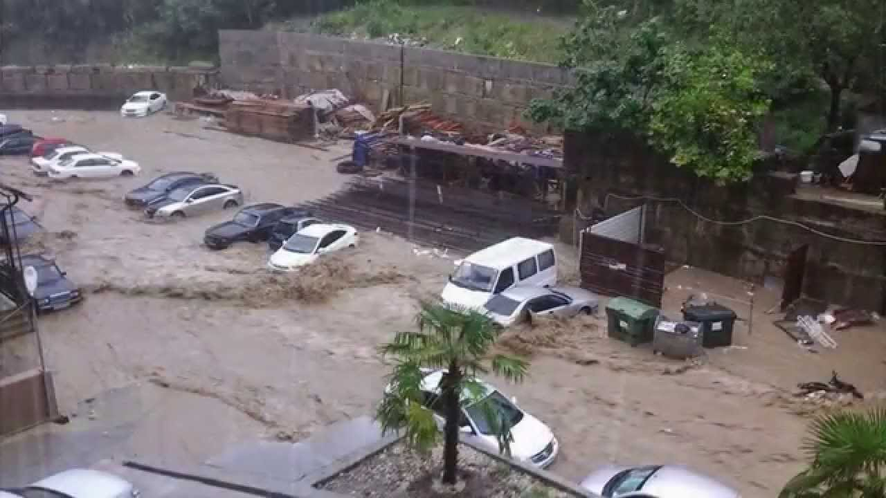 Сочи сегодня (21.07.14): Дождь - YouTube