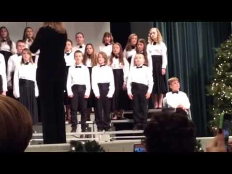 Hickory middle school chorus concert 2014 dec
