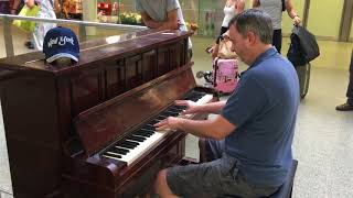 Jerry Lee Lewis Johnny B. Goode piano cover