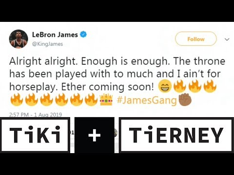 Does LeBron James Even Care About The David Griffin Situation?   Tiki + Tierney