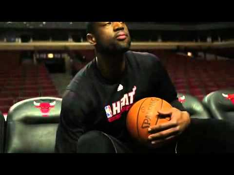 Lebron and Wade jokes around Dampier