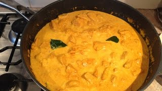 Thai Red Chicken Curry - Easy As