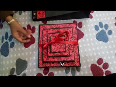 Handmade Pyramid birthday card to gift