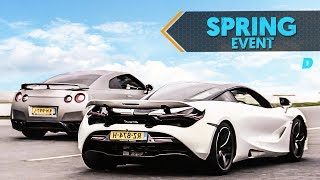 Gekste DAY1-video ooit?! RACEN IN EEN 720S, RS6, C63, R8 EN GTR || #DAY1 X SPRING EVENT