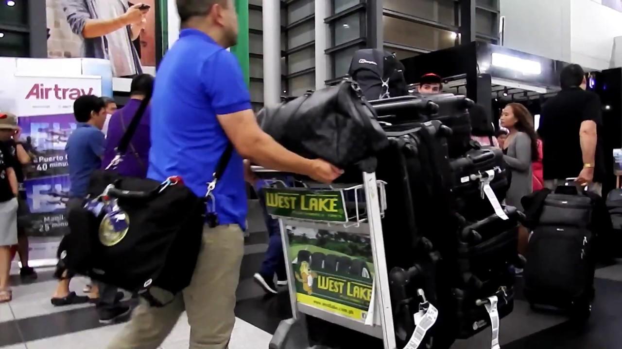 Naia Terminal 3 Manila International Arrival To Baggage Immigration
