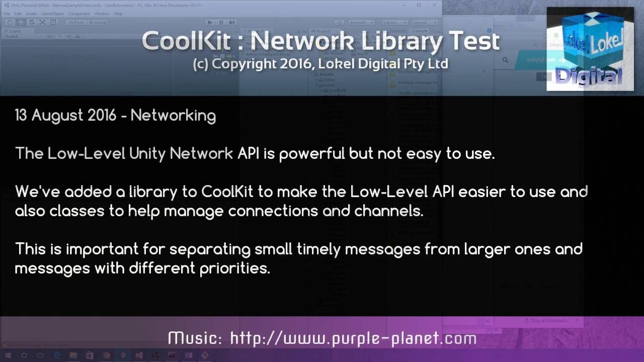 CoolTools & CoolKit DevLog Episode 06 - Networking