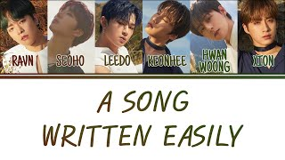 Cover images [Color Coded Lyrics] ONEUS (원어스) - 쉽게 쓰여진 노래 (A Song Written Easily) [Han/Rom/Eng]