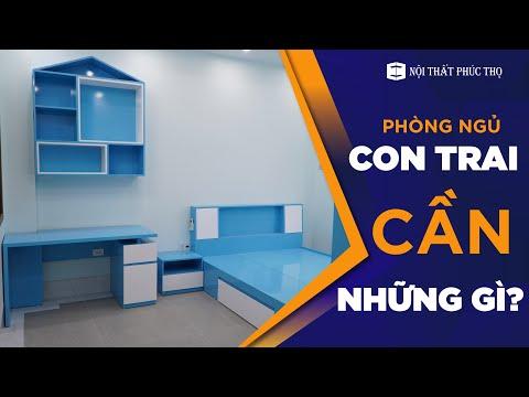 Mẫu Phòng Ngủ Cho Con Trai Yêu - Với Chi Phí Chỉ Từ 30 Triệu Đồng - Do Nội Thất Phúc Thọ Thi Công