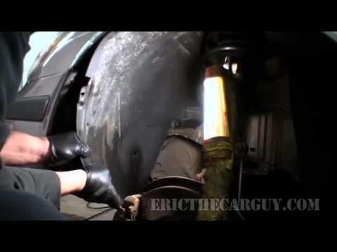 SAAB 9-5 Service theft alarm - (снятие, установка сирены)