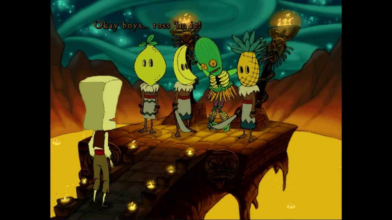 Curse Of Monkey Island Death