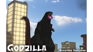 Roblox Ep.45 Godzilla: Monsters Awakened Playing as the Female Muto and also a few more updates
