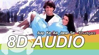 Aap Ke Aa Jane Se 8D Audio Song - Khudgarz | Govinda & Neelam | Mohammed Aziz | Sadhna Sargam