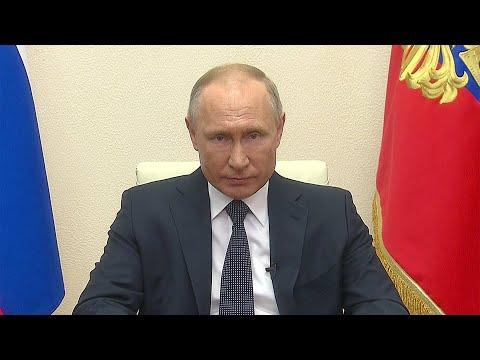 Владимир Путин объявил, что принял решение продлить режим нерабочих дней до конца месяца.