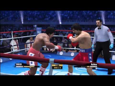 """Apollo Creed vs. Rocky Balboa in """"Fight Night Champion"""", Part 1/1"""
