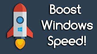 Boost WIndows 8/10 Performance and Speed (Better GAMING & Faster EDITING)