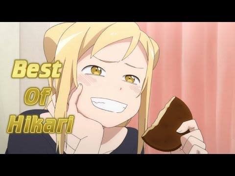Hikari Is Hilarious | Demi-chan wa Kataritai | Funny Anime Moments 2017 (English Sub) [HD]