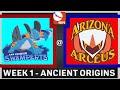 MiLPB Season 2 Week 1 - San Joaquin Swamperts Vs. Arizona Arceus (Ancient Origins)