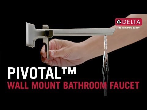 Pivotal™ Wall Mount Bathroom Faucet