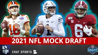 The latest 2021 nfl mock draft has updated 1st round projections and some 2nd picks with 2020 season almost over. if order holds,...