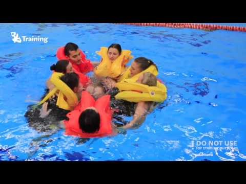 Cabin Crew Training shorts: Ditching and water survival - BAA Training