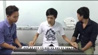 Keyboard Hoàng Lâm....Về Đâu Mái Tóc Người Thương