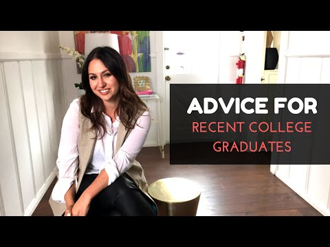 My Advice for College Graduates! | The Intern Queen
