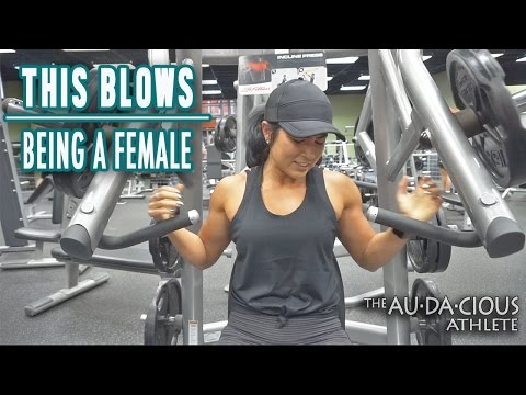 This Blows || Being A Female || Audacious Athlete Ep. 17