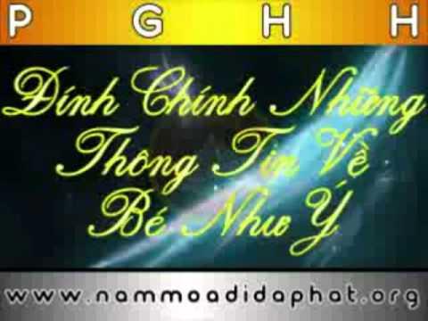 Đính chính những thông tin về Bé Như Ý từ ban đại diện Phật Giáo Hòa Hảo.