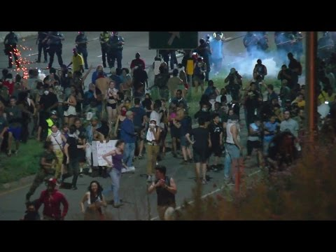 102 Arrested, 21 Officers Hurt Following I-94 Protest