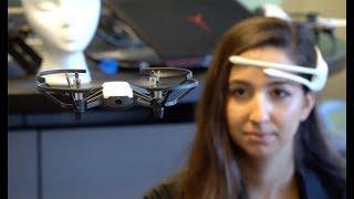 Brain-Drone Race