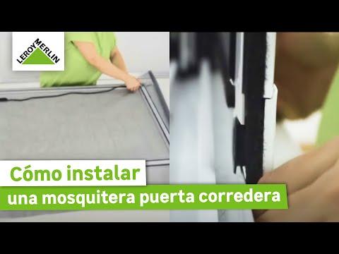 Cómo instalar una mosquitera puerta corredera · LEROY MERLIN