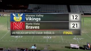 Riverside High School Football - Norte Vista vs Moreno Valley