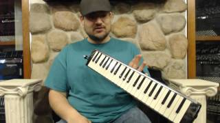 HAMM44P - NEW Hammond Pro 44HP Amplified Hyper Melodion 44 Key Melodica $449