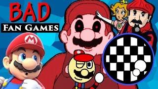 BAD Mario Fan Games - Pikasprey