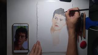 Speed Drawing: Dylan 'Thomas' O'Brien from The Maze Runner