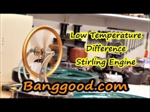 Low Temperature Stirling Engine Banggood.com