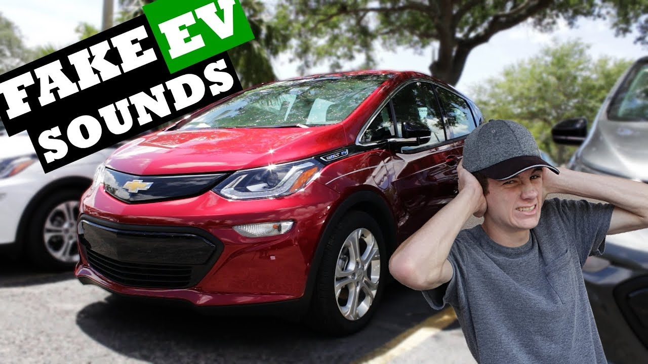 The Sound Of Future Fake Electric Car Sounds