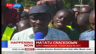 Kisumu residents decry Matatus tripled fares as gov\'t starts countrywide crackdown | #MichukiRules