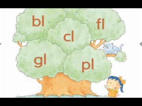 "Phonics Kids 4B Unit 2 | Consonant Blends | ""l"" Blends 