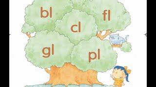 "Phonics Kids 4B Unit 2 | Consonant Blends | ""l"" Blends | bl cl fl gl pl |"