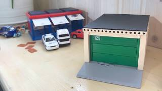 Іграшка гараж - в порівнянні 3-х секційний і розбірний