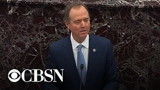Schiff concludes by laying out case for abuse of power