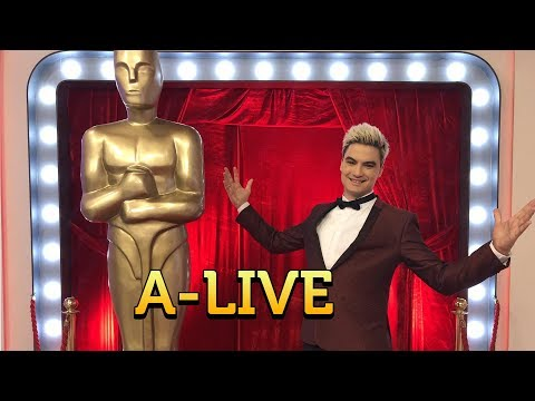 A-LIVE DO OSCAR 2018! ESTAMOS AO VIVO!
